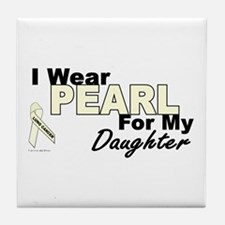 I Wear Pearl 3 (Daughter LC) Tile Coaster