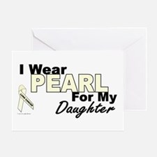 I Wear Pearl 3 (Daughter LC) Greeting Card