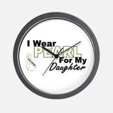 I Wear Pearl 3 (Daughter LC) Wall Clock