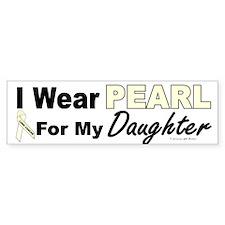 I Wear Pearl 3 (Daughter LC) Bumper Bumper Sticker