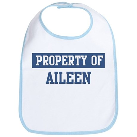 Property of AILEEN Bib