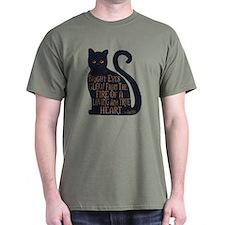 Bright Eyes - One Side T-Shirt