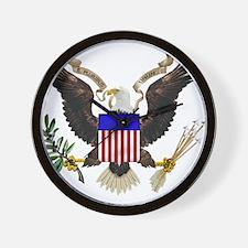 eag;e_seal_pln8.png Wall Clock