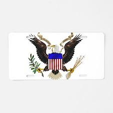 eag;e_seal_pln8.png Aluminum License Plate