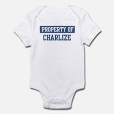 Property of CHARLIZE Onesie