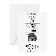 WildEyedPixie Zit Greeting Card