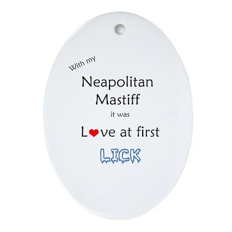 Neo Lick Oval Ornament