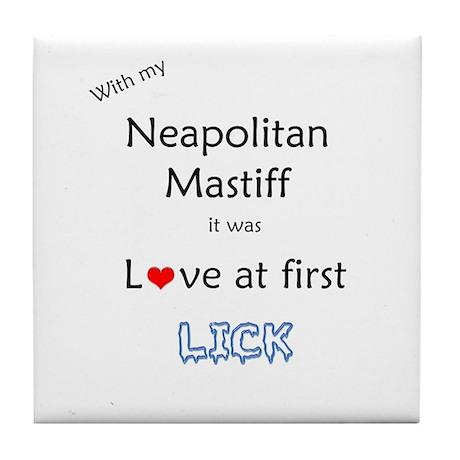 Neo Lick Tile Coaster