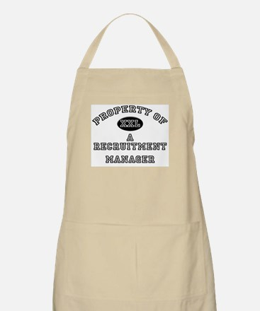 Property of a Recruitment Manager BBQ Apron