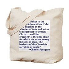 she is a traitor Tote Bag