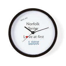 Norfolk Lick Wall Clock