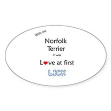 Norfolk Lick Oval Decal