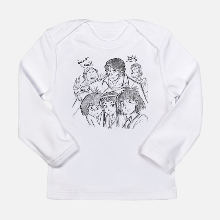 Cute Mysterious Long Sleeve Infant T-Shirt