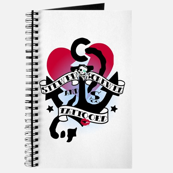 Stewed, Screwed and Tattooed Journal