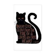 Bright Eyes Rectangle Decal