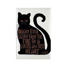 Bright Eyes Rectangle Magnet
