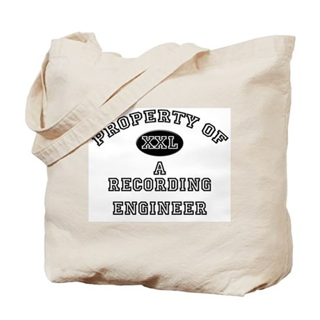 Property of a Recording Engineer Tote Bag