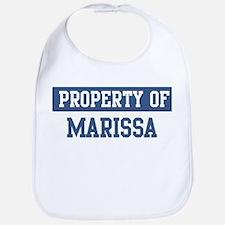 Property of MARISSA Bib