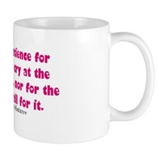 No patience for cryers quote Mug