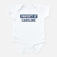 Property of CAROLINE Infant Bodysuit