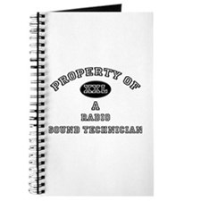 Property of a Radio Sound Technician Journal