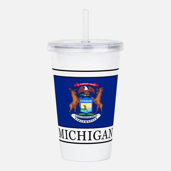Michigan Acrylic Double-wall Tumbler