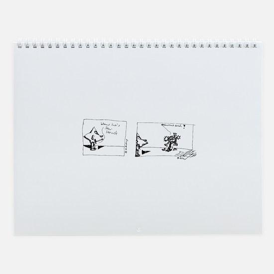 "Black Jester's ""Life Of The Stars"" Wall Calendar"
