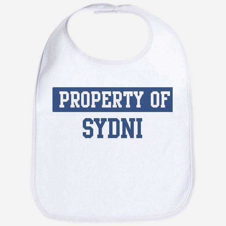 Property of SYDNI Bib