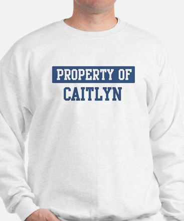 Property of CAITLYN Jumper