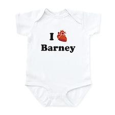 I (Heart) Barney Infant Bodysuit