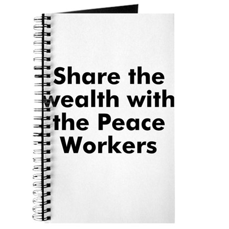 Share the wealth with the Pea Journal