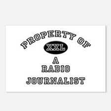 Property of a Radio Journalist Postcards (Package