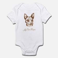 Norwegian Lundehund Infant Bodysuit