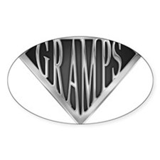 SuperGramps(metal) Rectangle Decal