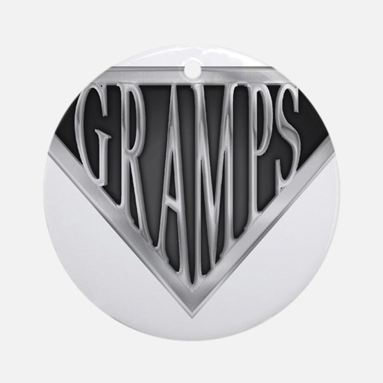 spr_gramps2.png Round Ornament