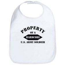 Property of a HARDCORE US Army soldier Bib