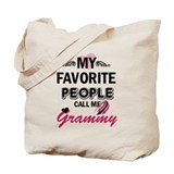 Grammy Canvas Totes