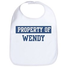 Property of WENDY Bib