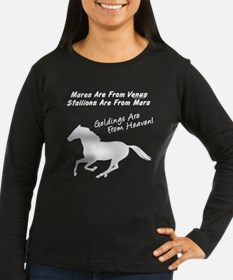 Geldings are from Heaven. Horse T-Shirt