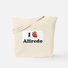I (Heart) Alfredo Tote Bag