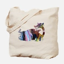 Funny Dragon pictures Tote Bag