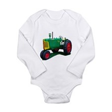 Model Long Sleeve Infant Bodysuit