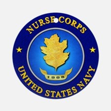usn_nursecorps.png Round Ornament