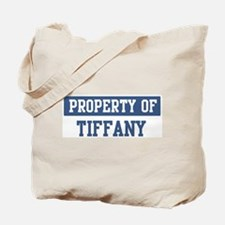 Property of TIFFANY Tote Bag
