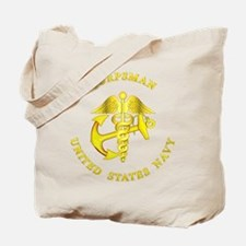 usn_corpsman3y_b.png Tote Bag
