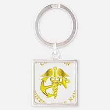 usn_corpsman3y_b Keychains