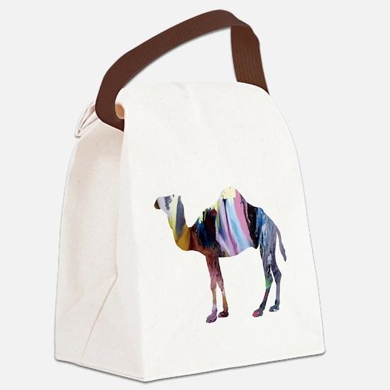Cute Animal art Canvas Lunch Bag