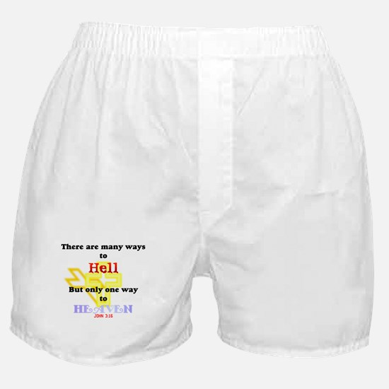 Way to Heaven Boxer Shorts
