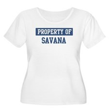 Property of SAVANA T-Shirt