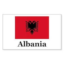Albania Rectangle Decal